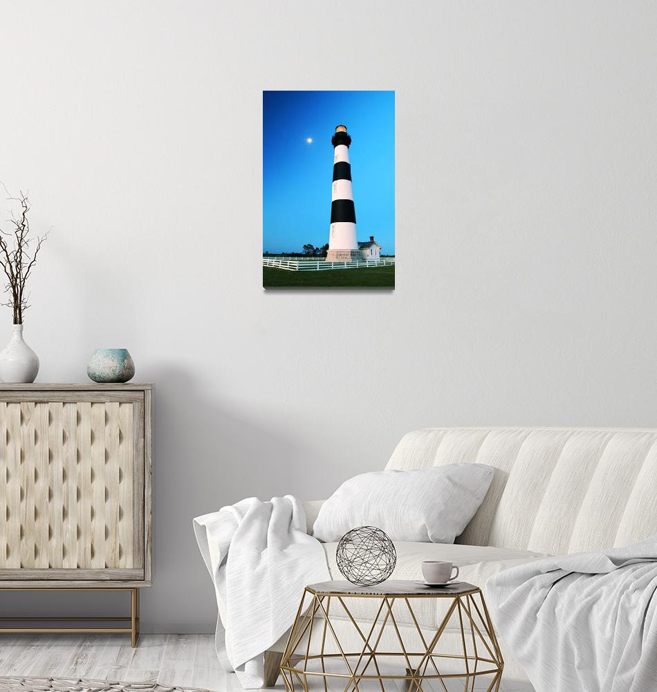 """""""Bodie Island Lighthouse""""  (2014) by RoupenBaker"""