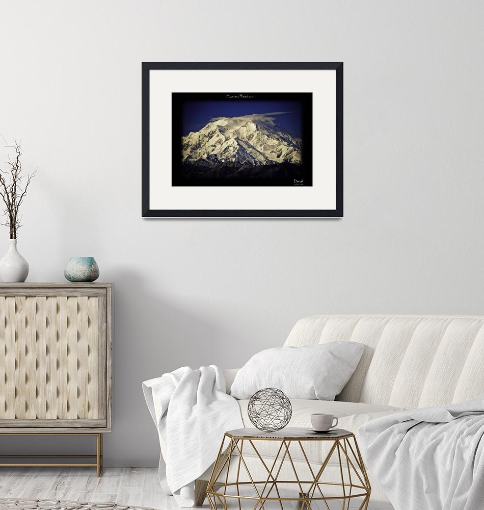 """Denali (Mount McKinley) from Eielson visitor cente"" (2003) by ExposedPlanet"