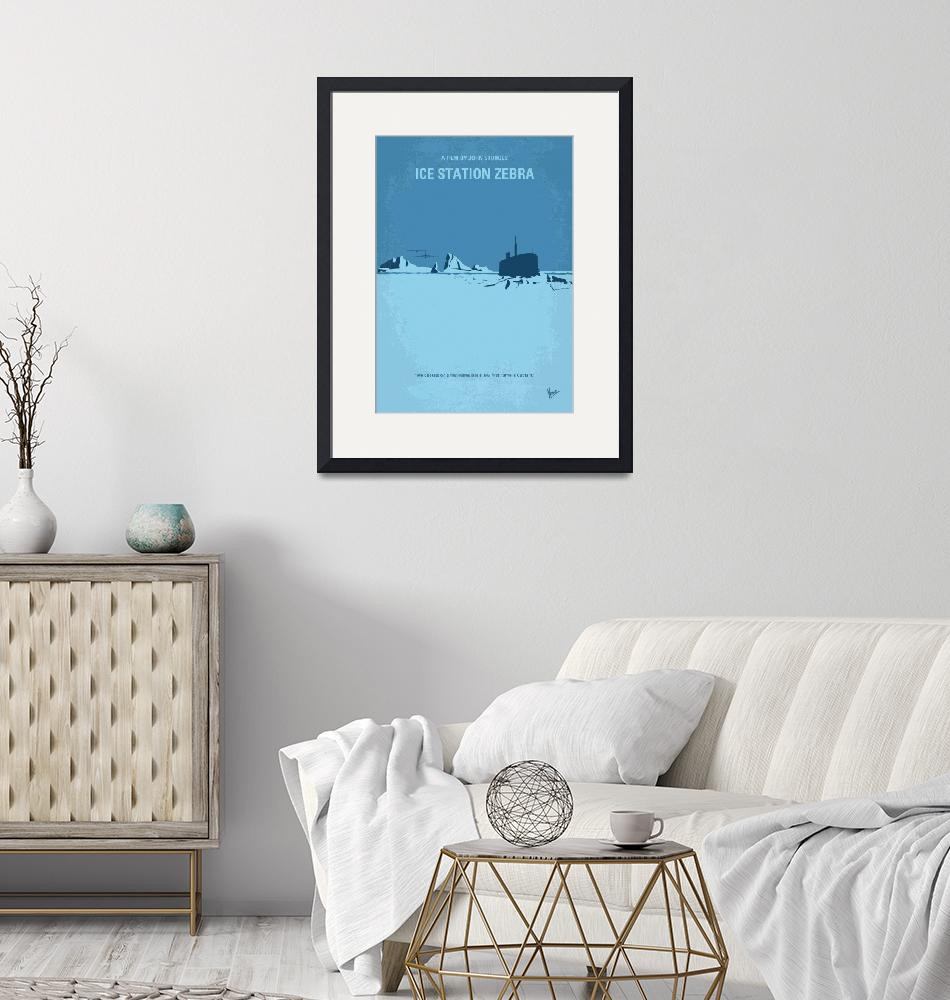 """No711 My Ice Station Zebra minimal movie poster""  by Chungkong"