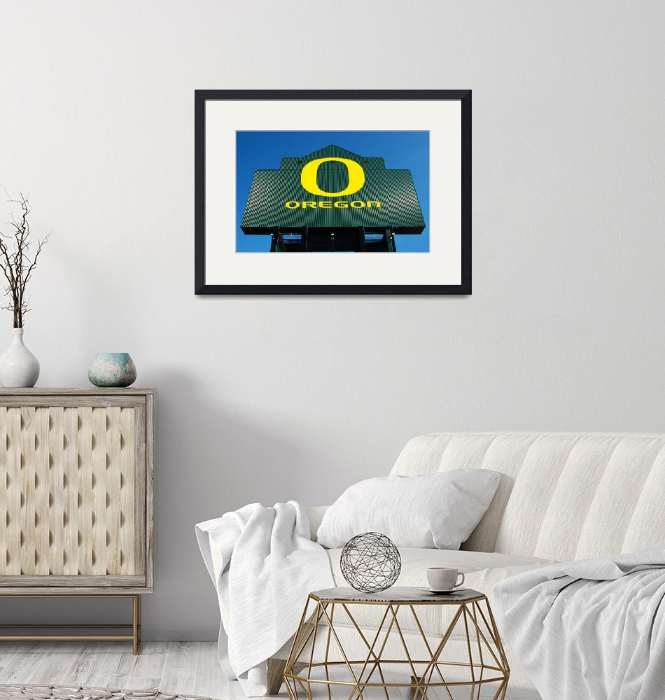 """Oregon Ducks O""  (2010) by gratefulgraffix"