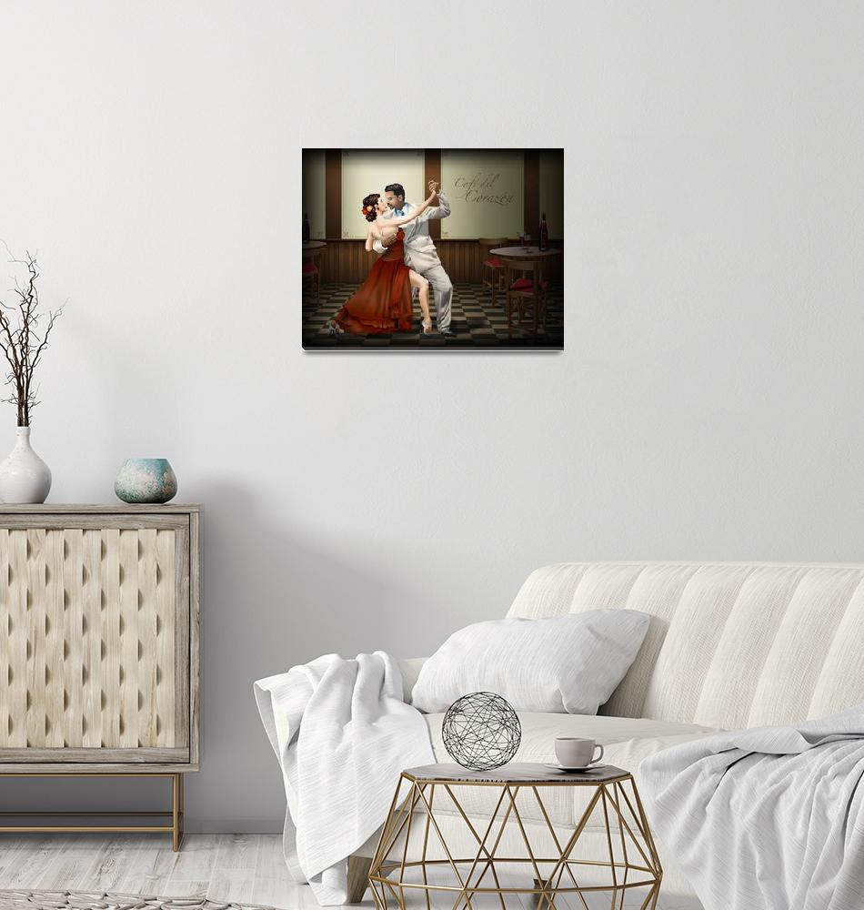 """""""Private Tango Rojo""""  (2010) by Art_By_Design_Studio"""
