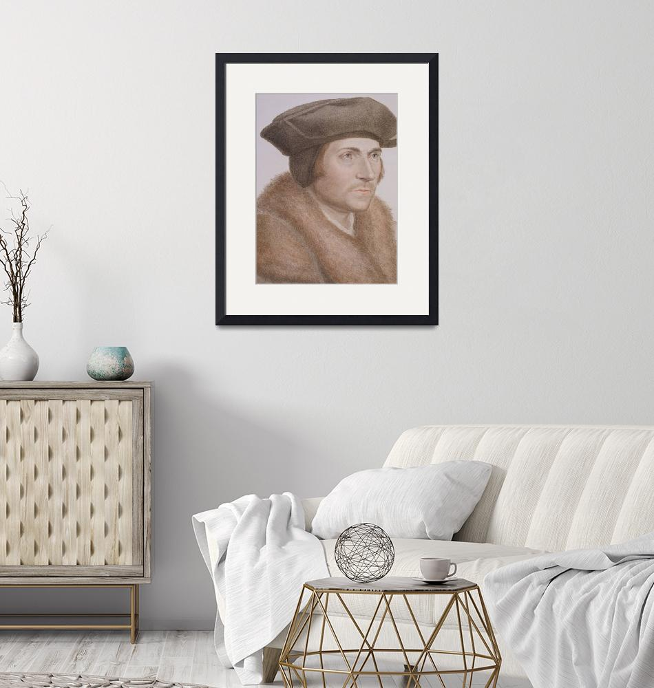 """""""Thomas More, Lord Chancellor""""  by fineartmasters"""
