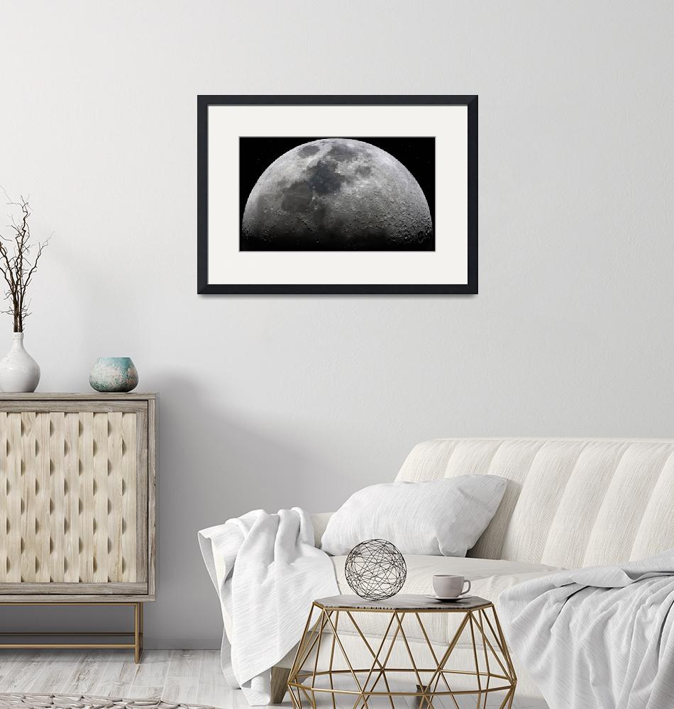 """""""Ultra High Definition Moon- landscape""""  by cosmic_background"""
