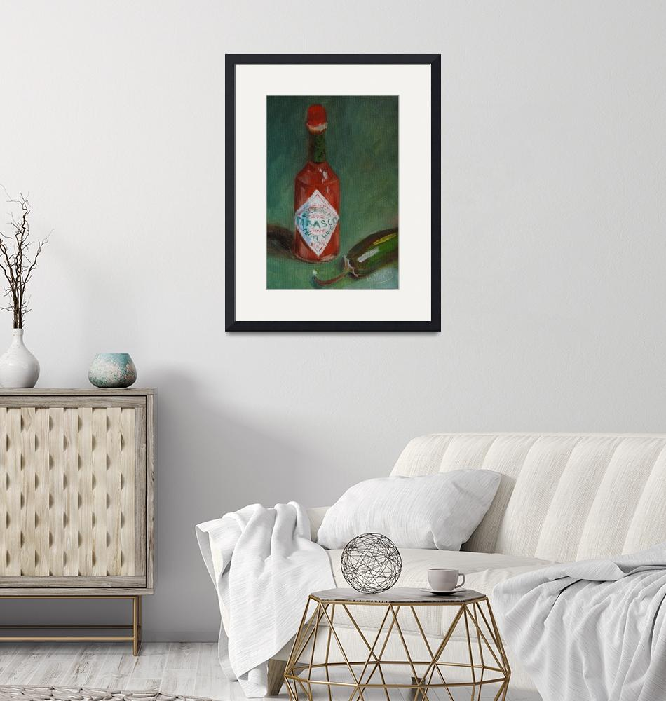"""""""Hot Sauce""""  (2008) by maryanncleary"""