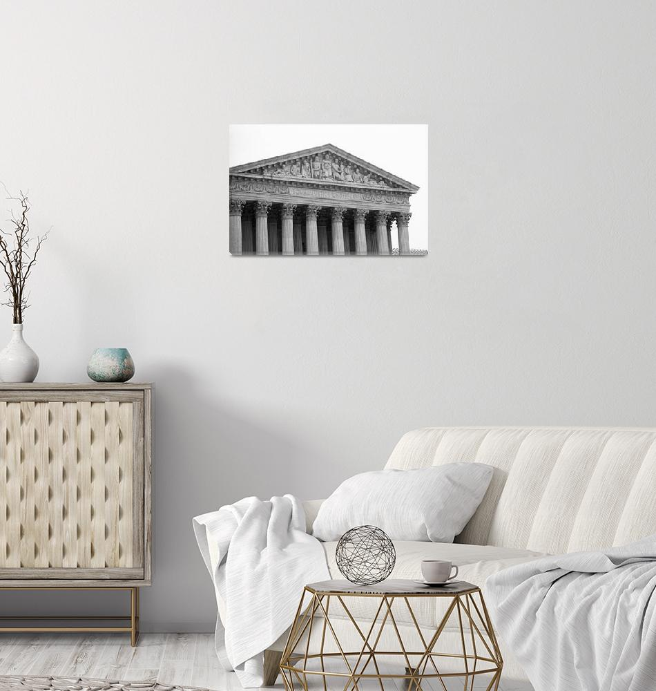 """""""United States Supreme Court Building 5""""  (2005) by Ffooter"""