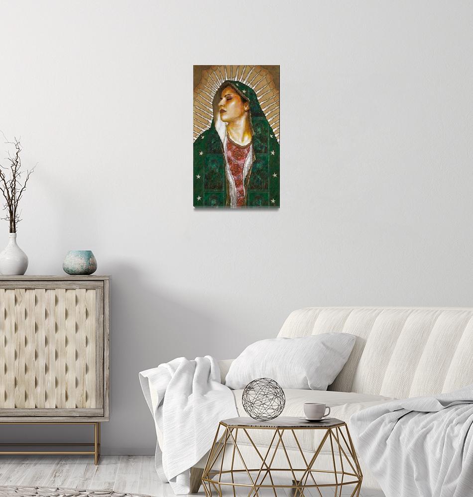 """Virgen de Guadalupe""  (2009) by gyepes1"