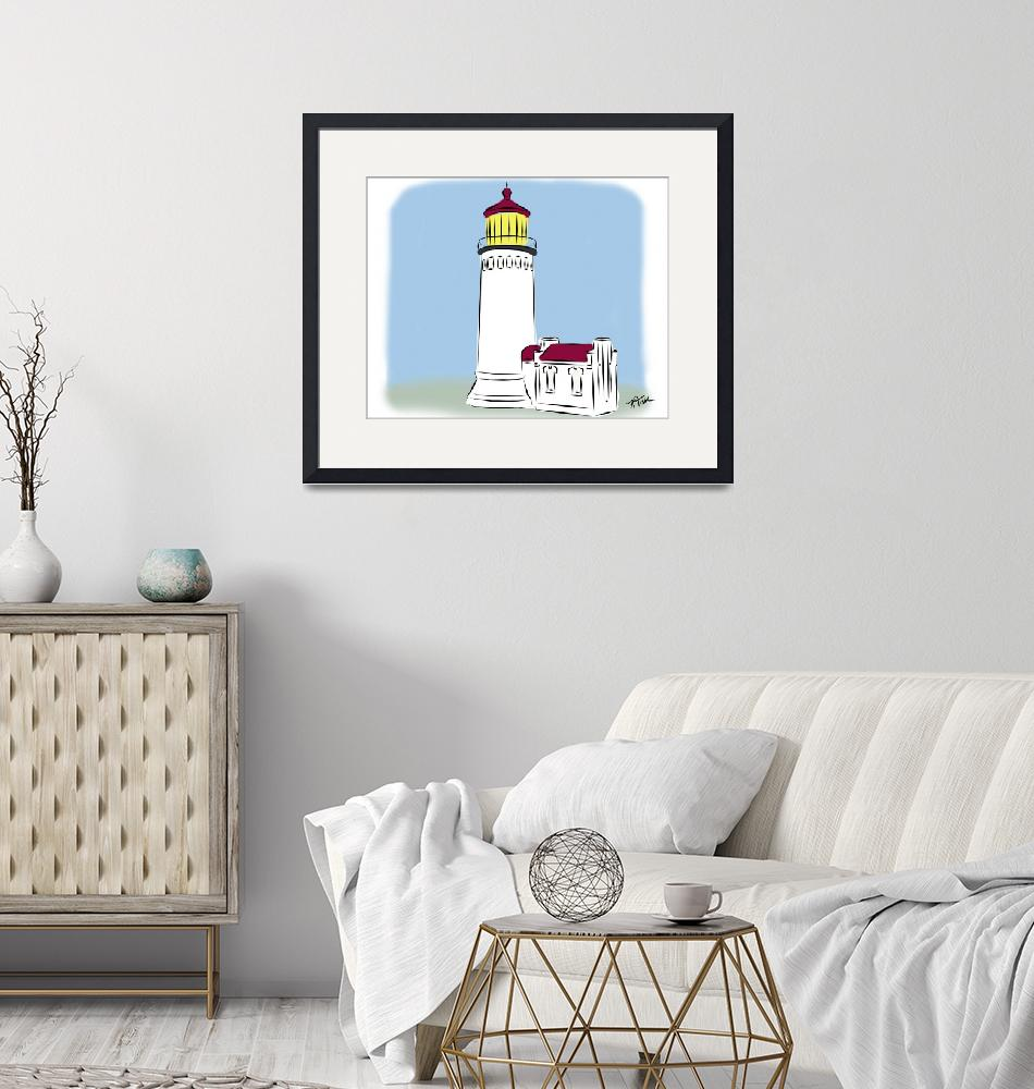"""""""North Head Lighthouse""""  (2020) by Kirtdtisdale"""
