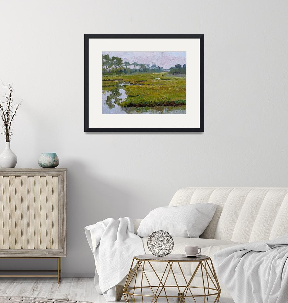 """""""Morning Marsh, Chincoteague""""  by RKSteed"""