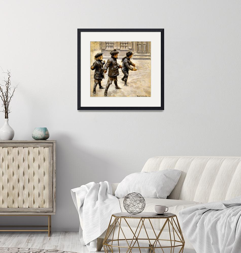 """""""BOYS AND SNOWBALLS""""  by homegear"""