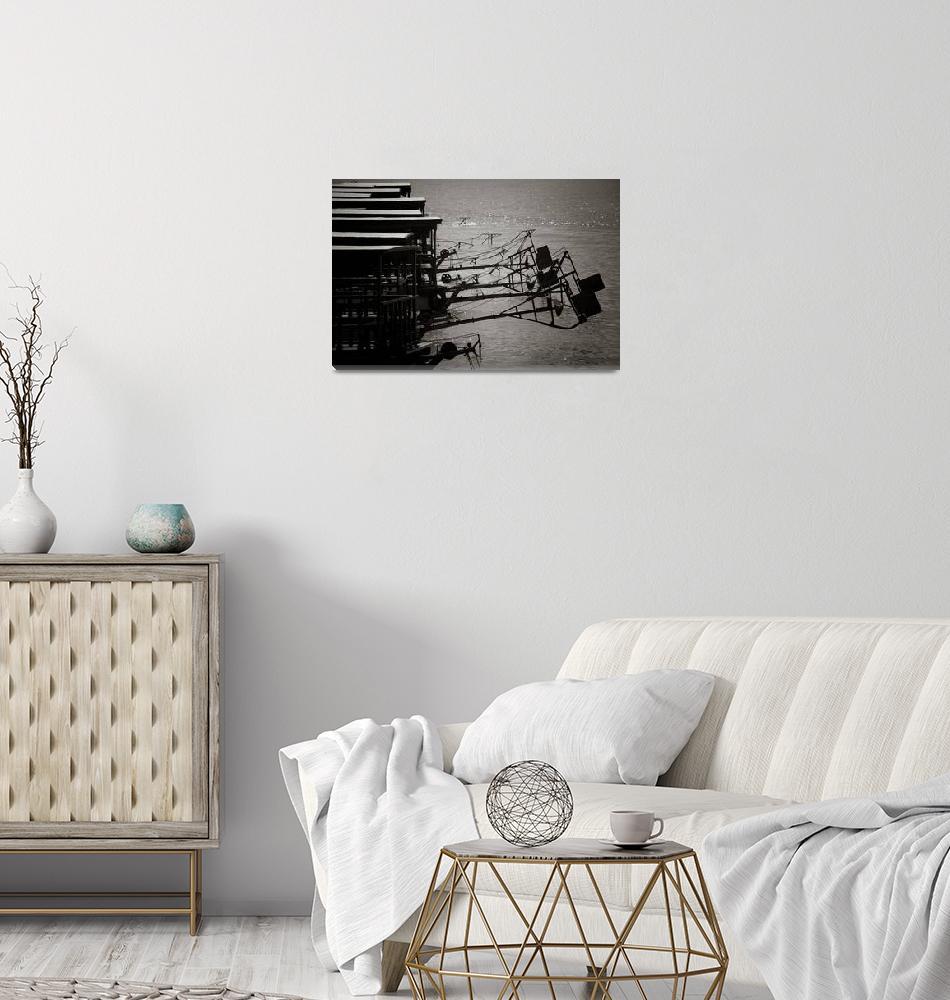 """Boat Rudders""  by RaymondLee"