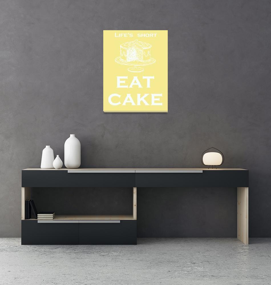 """Eat Cake""  (2009) by rickimountain"