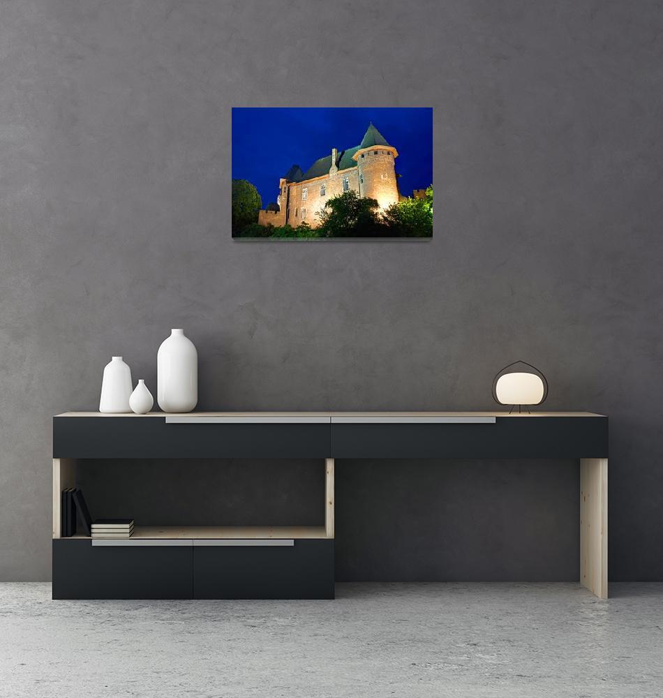 """""""Burg Linn 01""""  (2008) by T-U"""