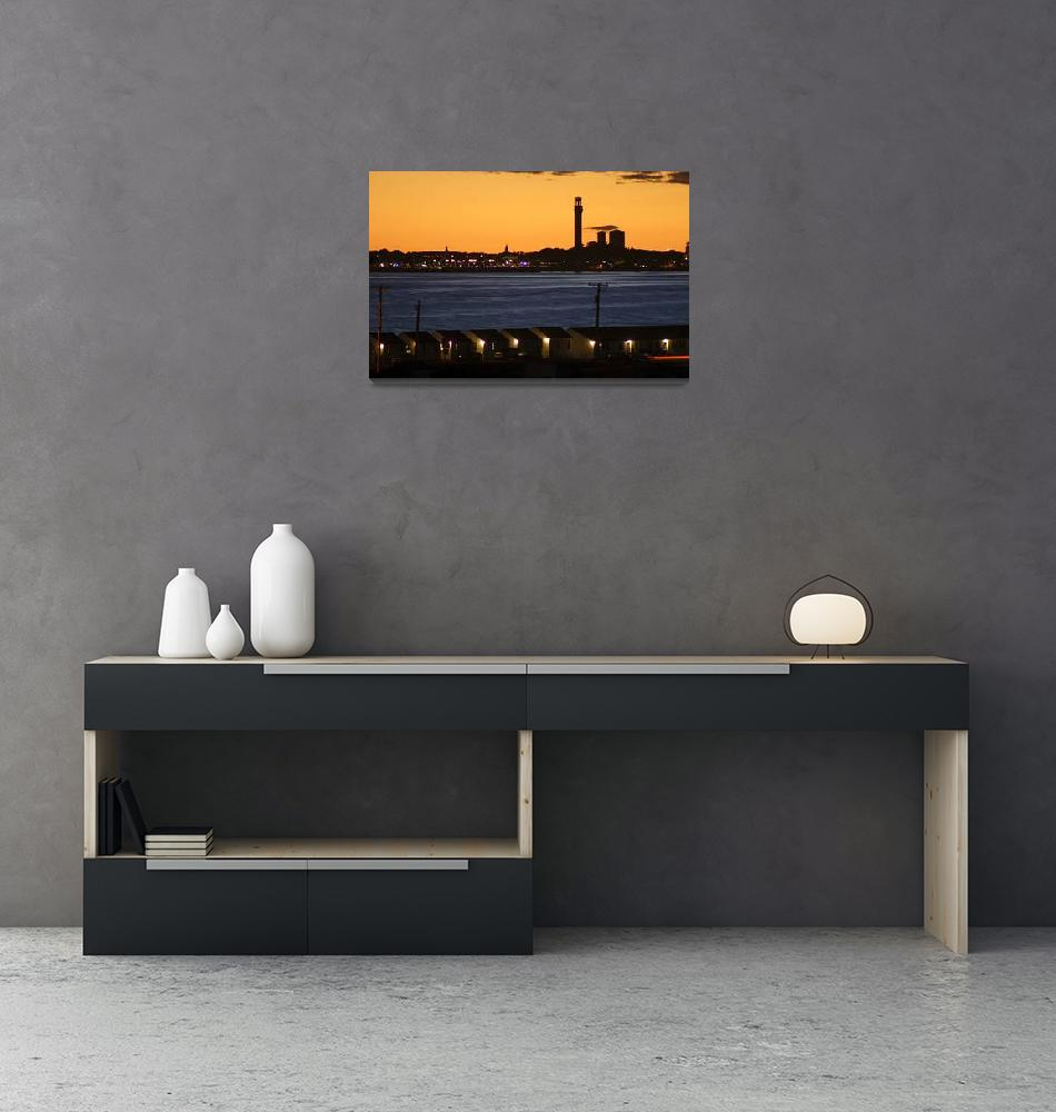 """Provincetown Sunset (Cape Cod)""  (2015) by ChrisSeufert"