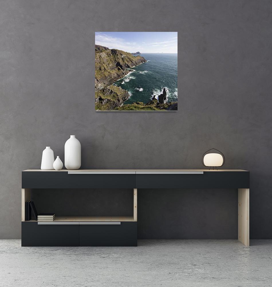 """""""Coast Of Skellig""""  (2014) by reganrose"""