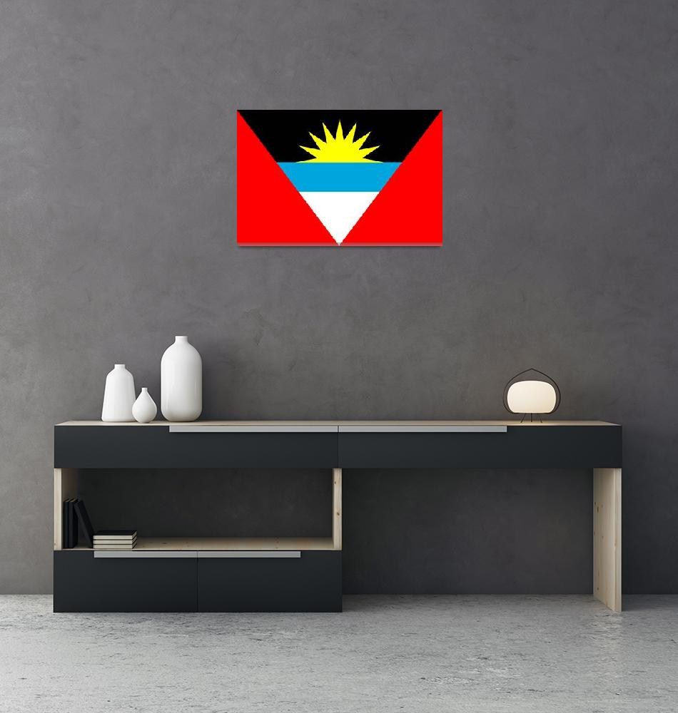 """Antigua and Barbuda""  by tony4urban"