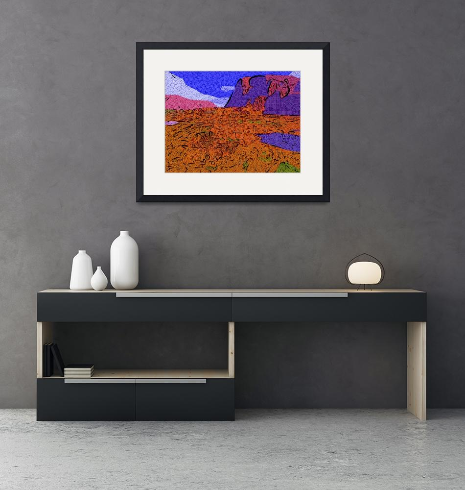 """The Badlands""  (2009) by mikesartworks"