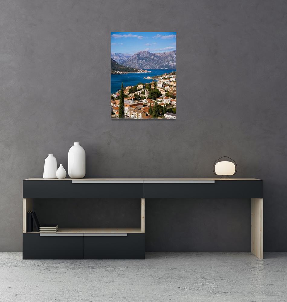 """View of Kotor Bay""  (2018) by raetucker"