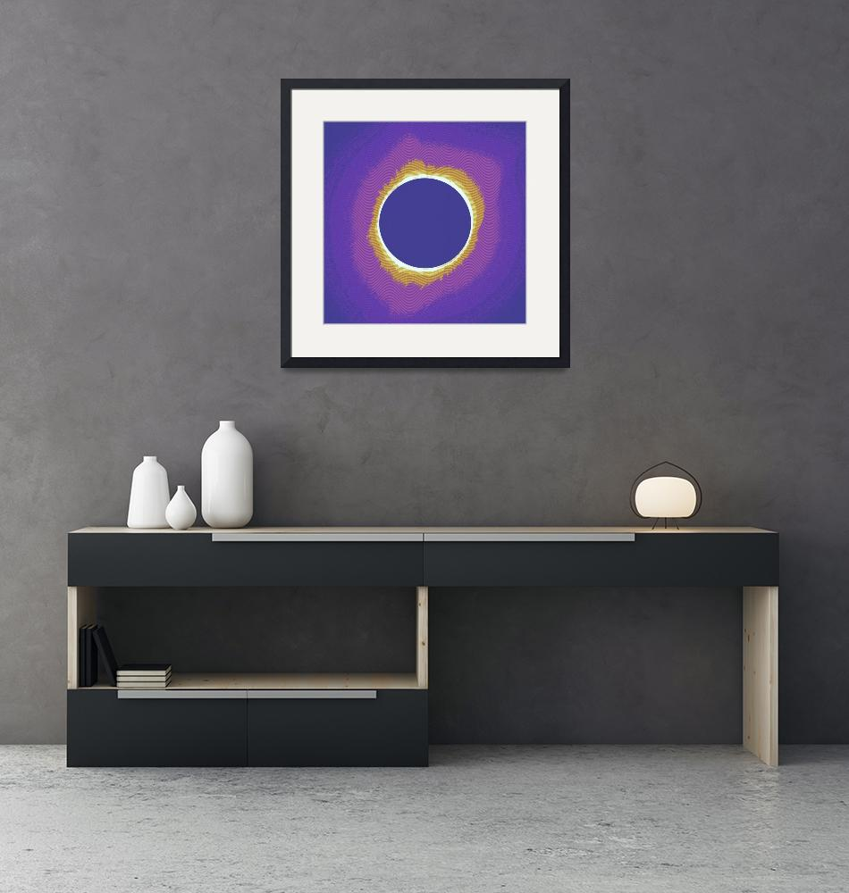 """""""Solar eclipse Poster 3""""  by motionage"""