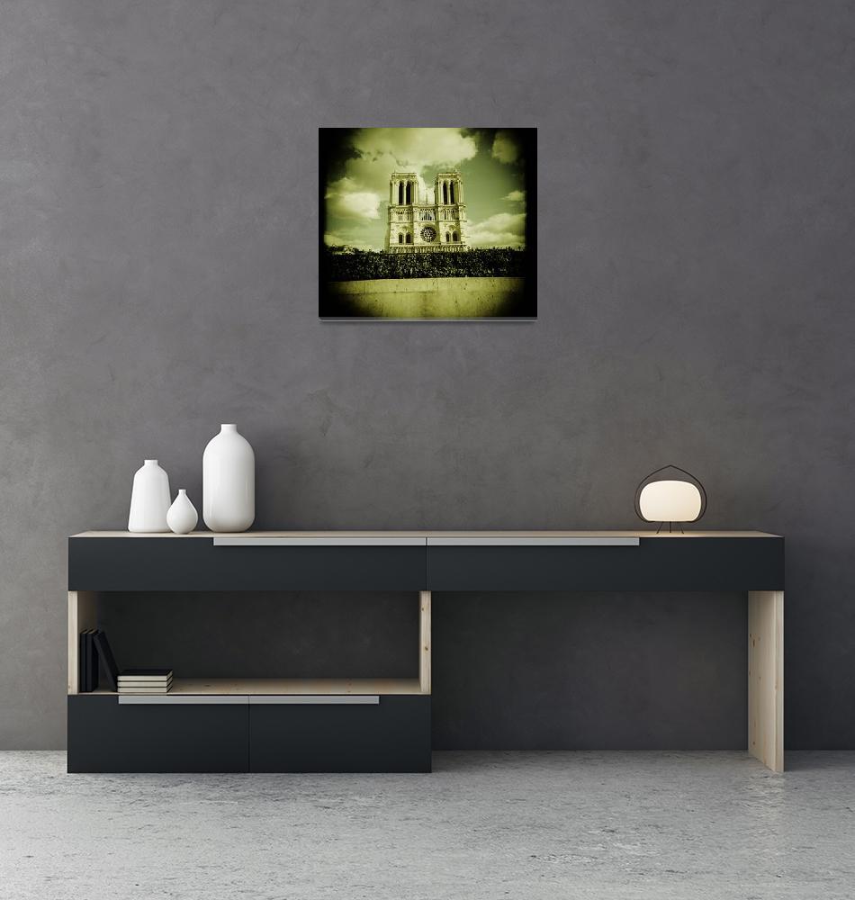 """""""Notre Dame  Paris""""  (2007) by Dunxs"""