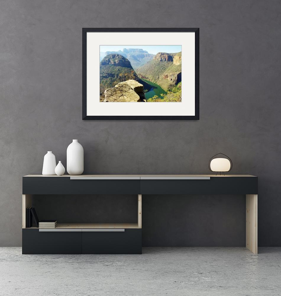 """""""Blyde River Canyon, South Africa""""  (2011) by biriart"""