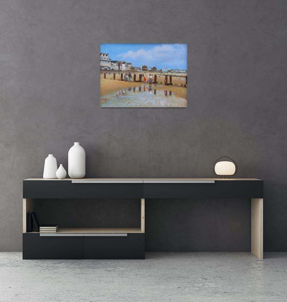 """""""LOWESTOFT BEACH""""  (2009) by Arderne"""