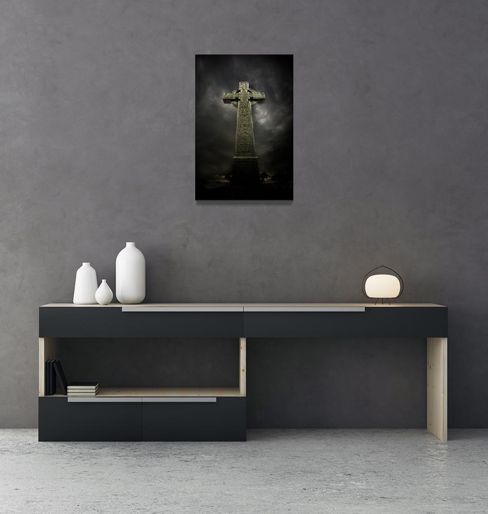 """Celtic Cross""  (2009) by maxblack"