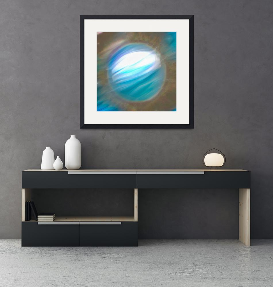 """""""Azure planet""""  (2019) by rolffimages"""