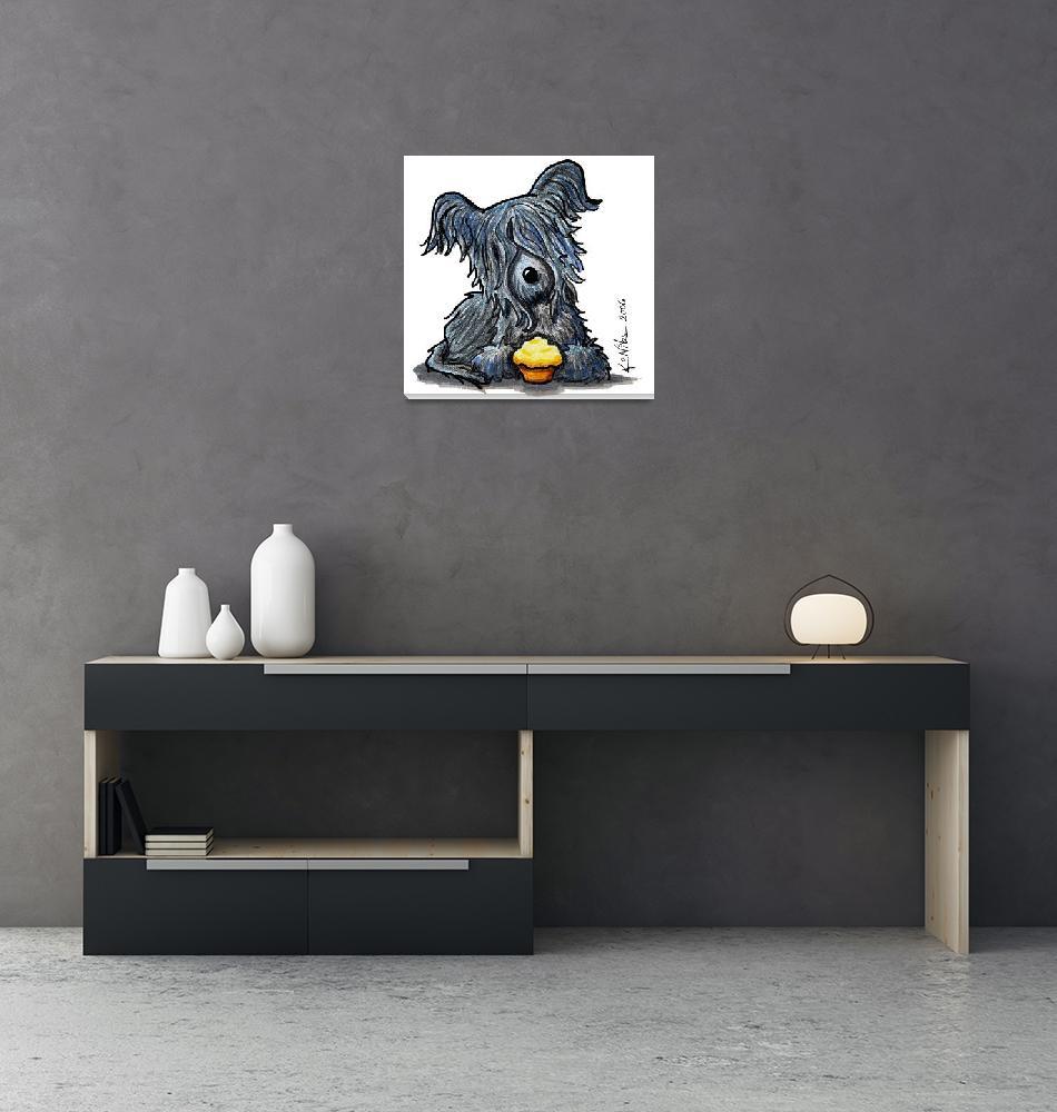 """""""Skye Terrier""""  (2006) by KiniArt"""