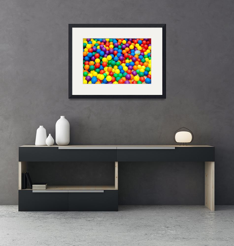 """""""colored balls""""  (2011) by 79billy"""