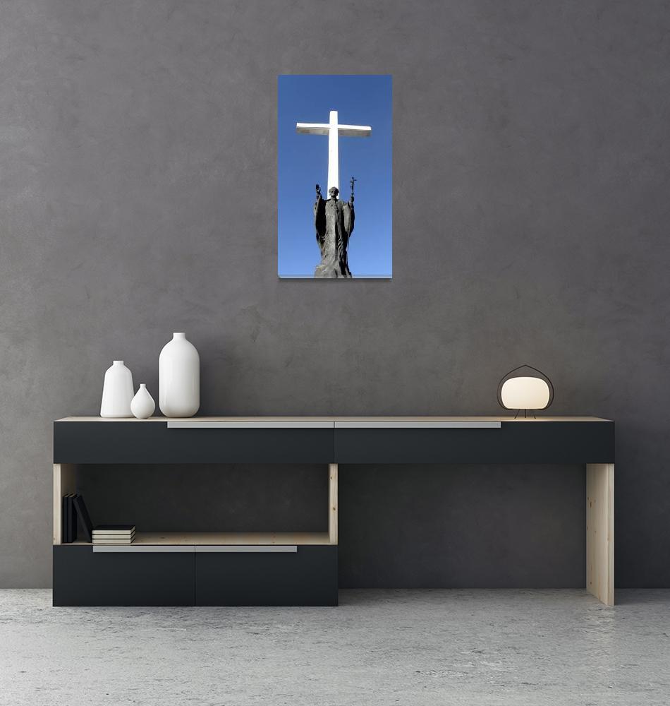 """""""Pope John Paul II""""  (2008) by Alvimann"""