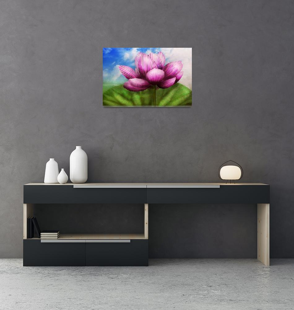 """""""Flower - Lotus - The symbol of Purity""""  by mikesavad"""