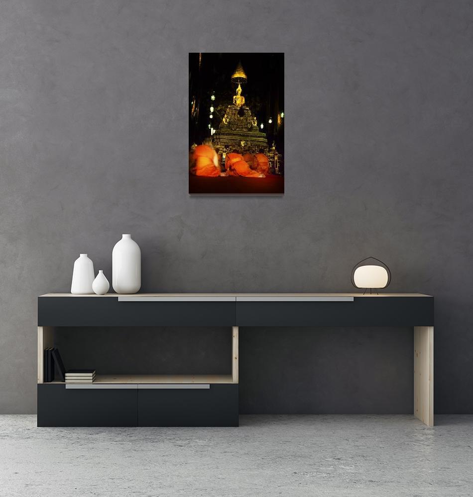 """Thailand Buddhist Monks""  (2005) by JoshuaFarnsworth"