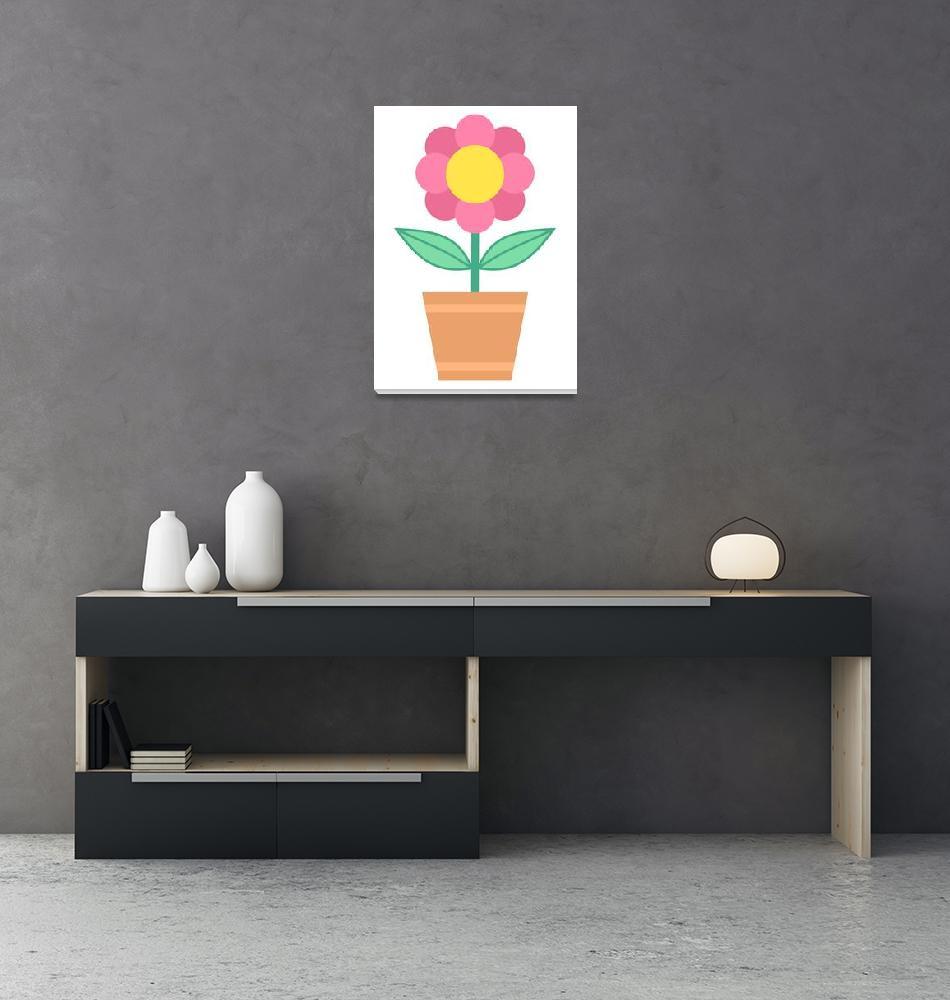 """Flower""  (2007) by darrenwhittingham"