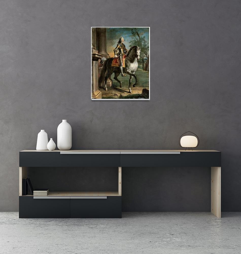 """Equestrian Portrait of King George II""  by ArtLoversOnline"