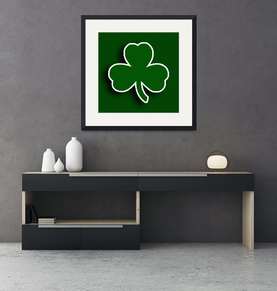 """Boston Celtics""  (2015) by RubinoFineArt"
