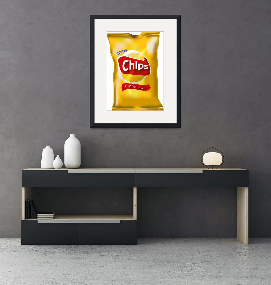 """""""Chips"""" (2008) by LAArtworks"""