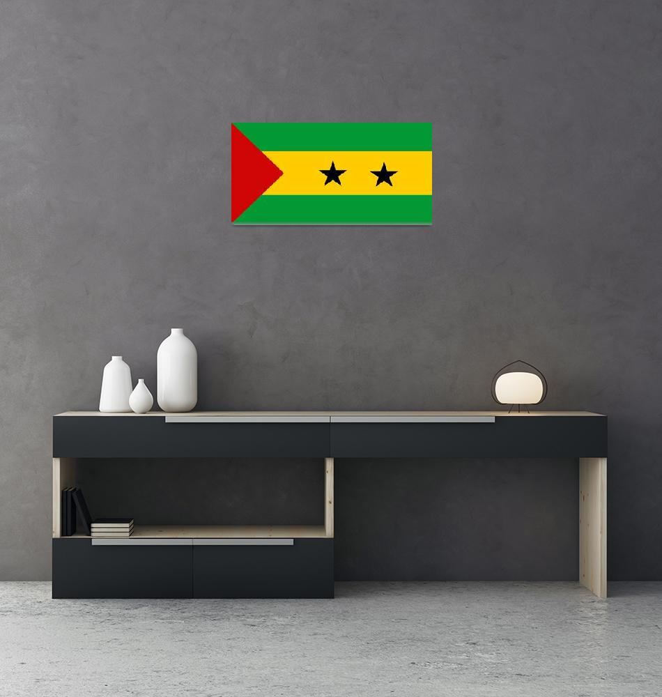 """Sao Tome and Principe""  by tony4urban"