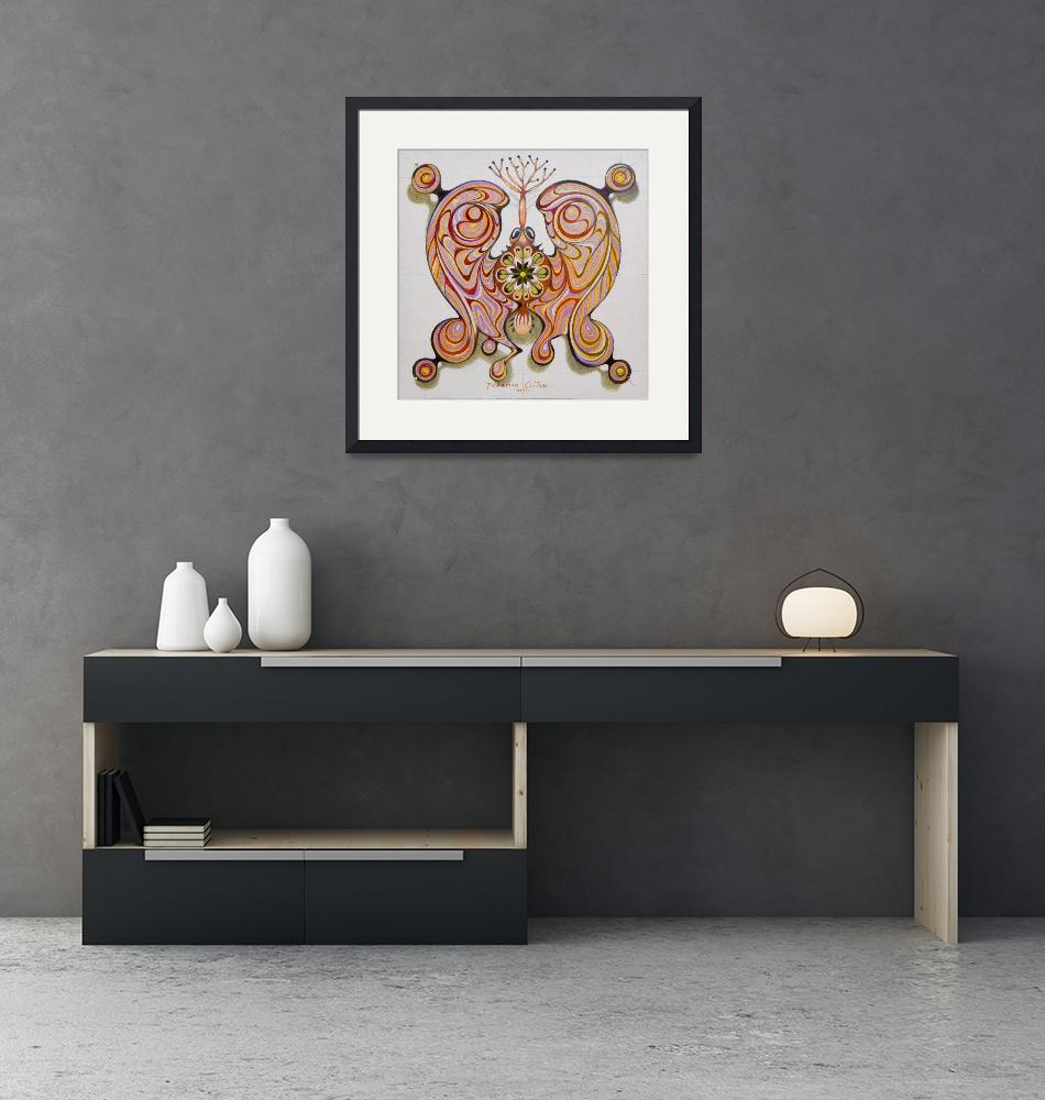 """""""imperial butterfly - original sold"""" (2016) by federicocortese"""