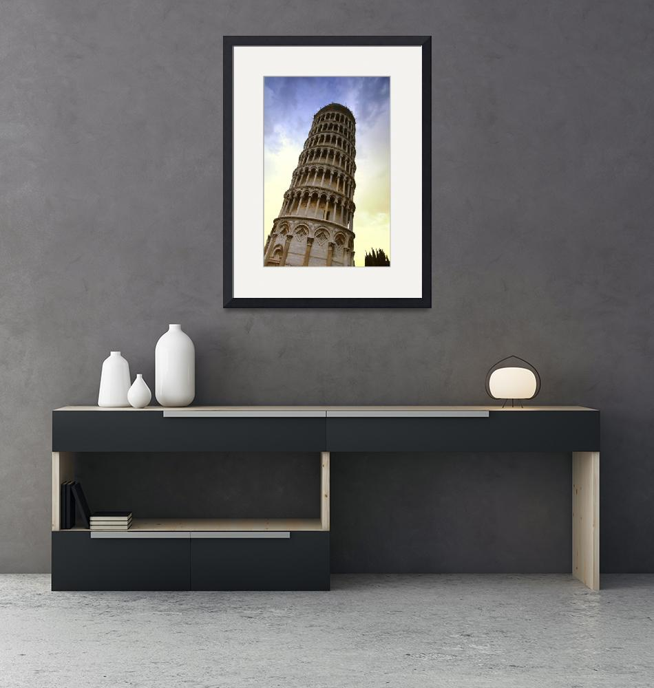 """""""The Leaning Tower Of Pisa Tuscany Italy""""  by DesignPics"""