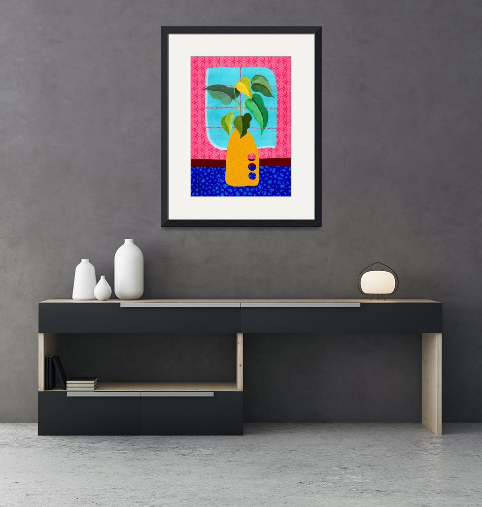 """Miami Deco Still Life""  (2019) by moderntropical"
