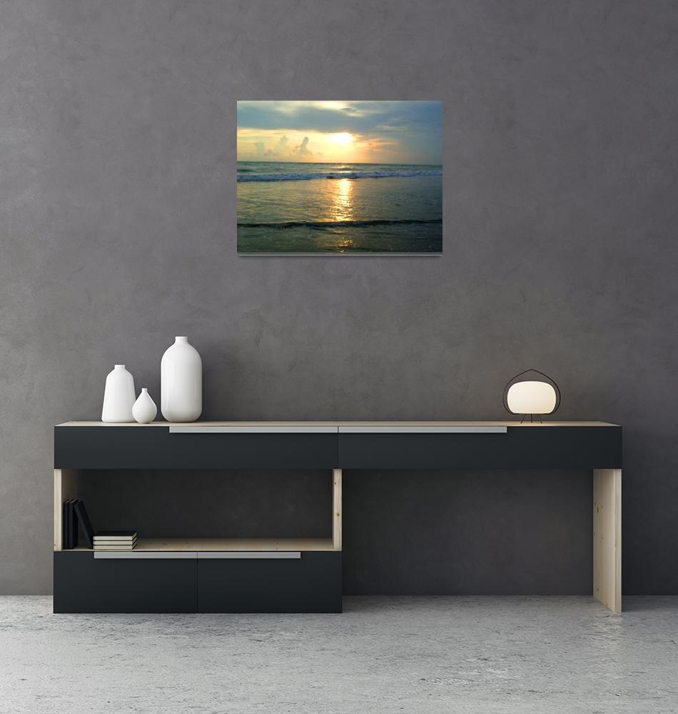 """""""The Sea at the Evening""""  (2008) by shampadmominphotography"""