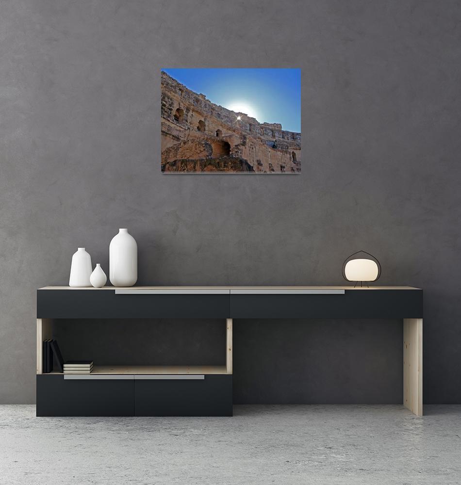 """Roman Amphitheatre""  (2010) by juliano"