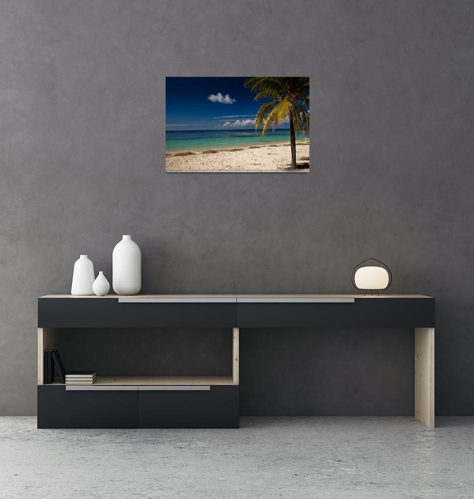 """Paradise beach""  (2008) by magda-maciek"