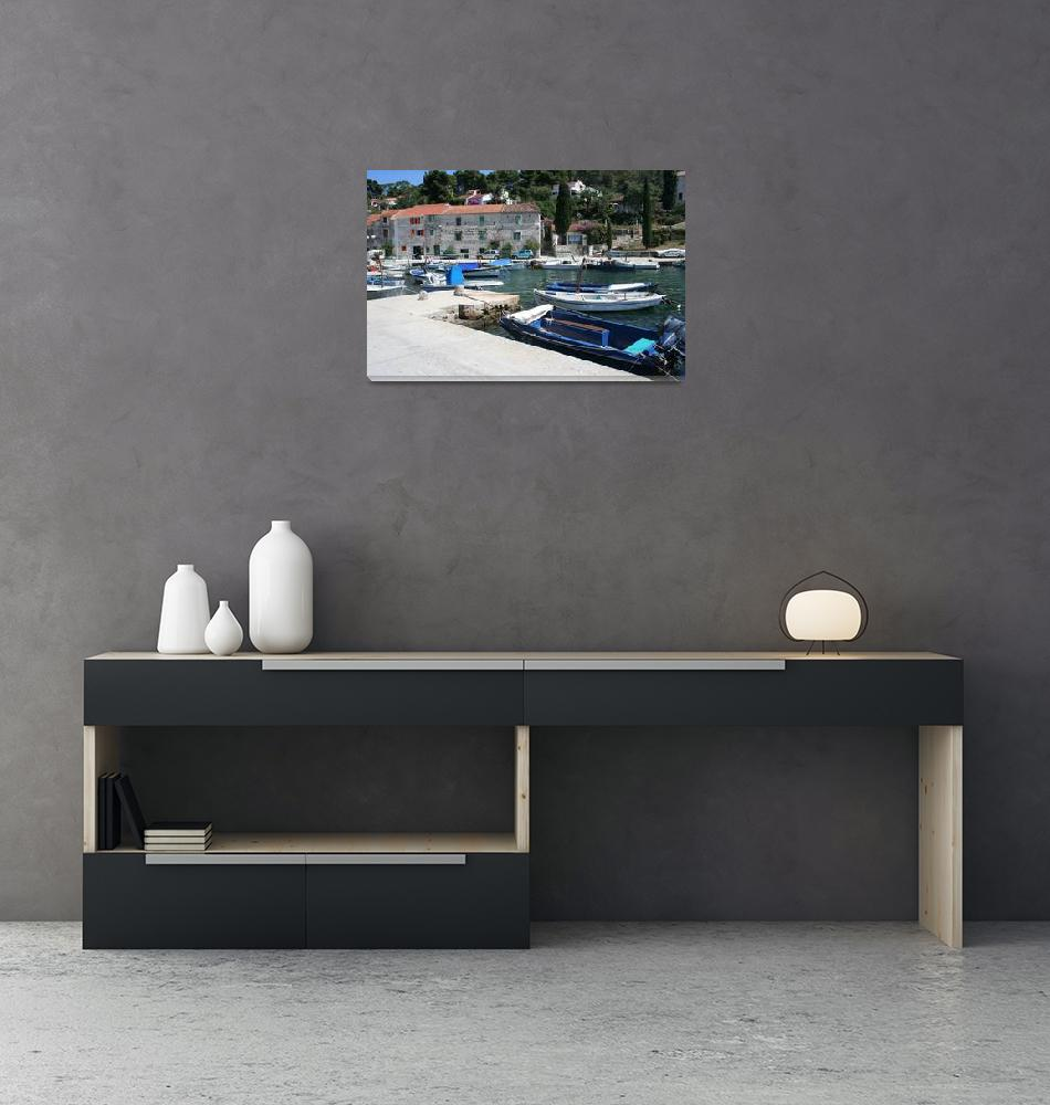 """Croatia Harbor""  by jforman"