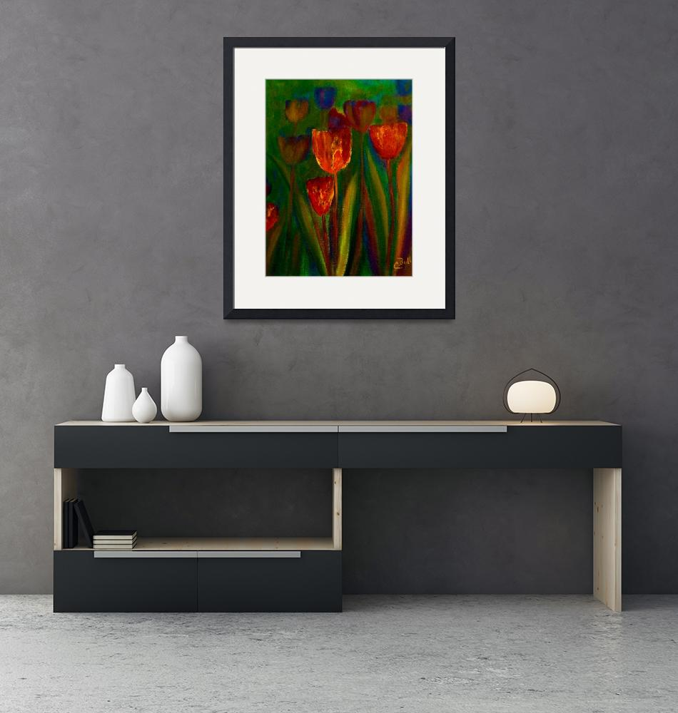 """""""Tulips""""  (2011) by artbyclaire"""
