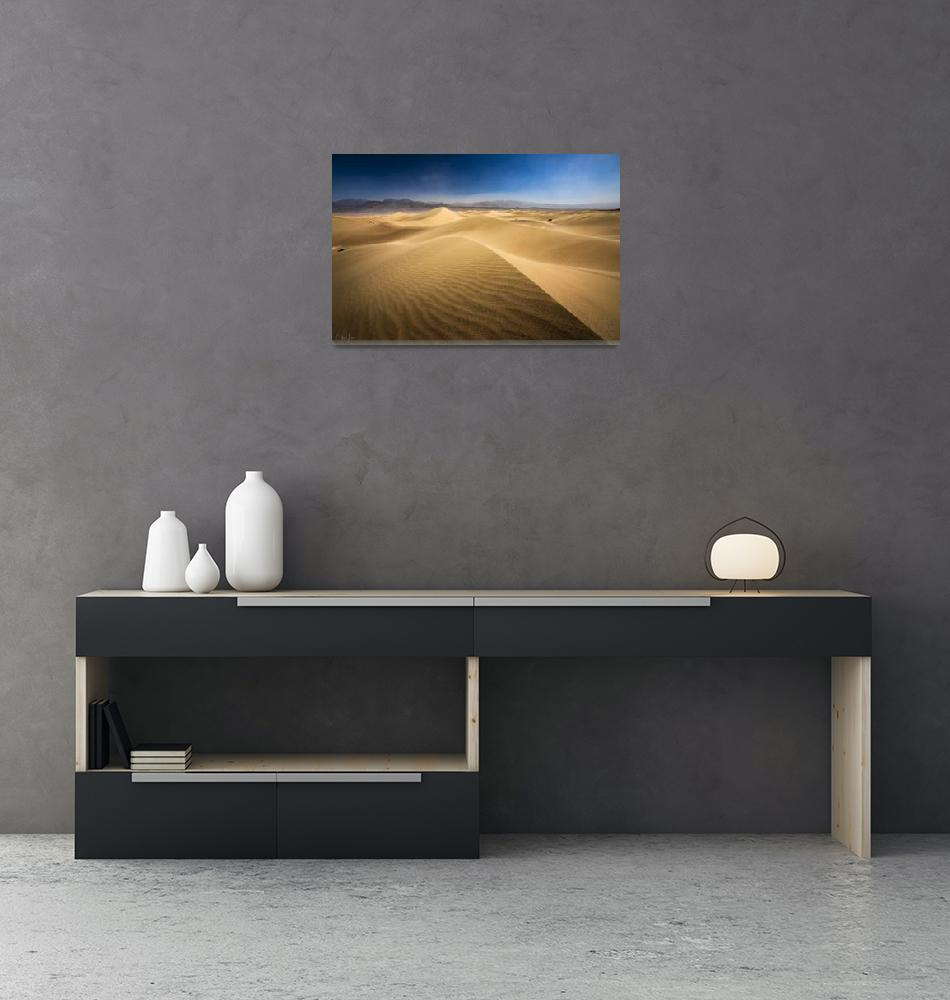 """""""Death Valley Sand Dunes in California by Cody York""""  by cyorkphoto"""