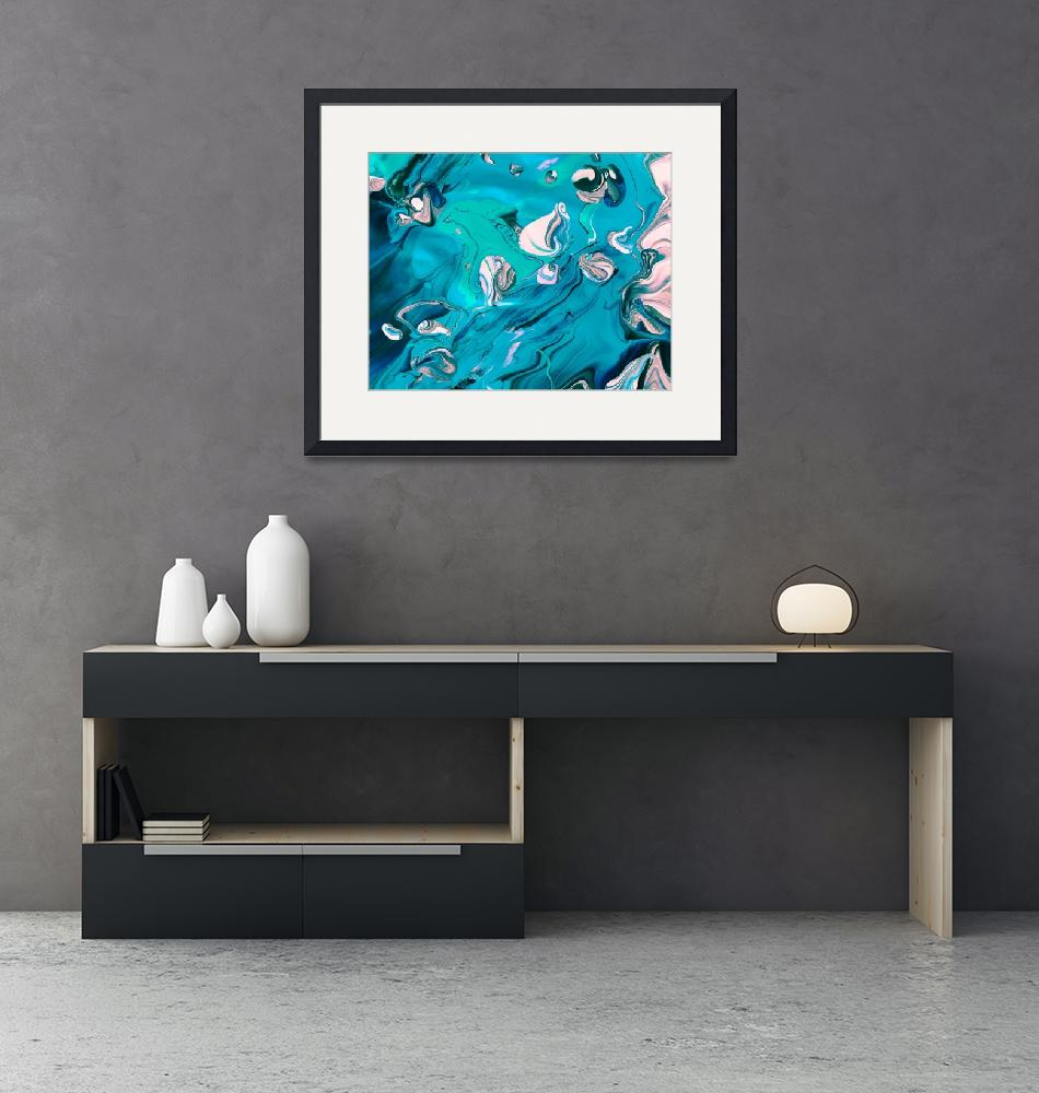 """Willis Abstract Art Collection Framed Print""  by buddakats1"
