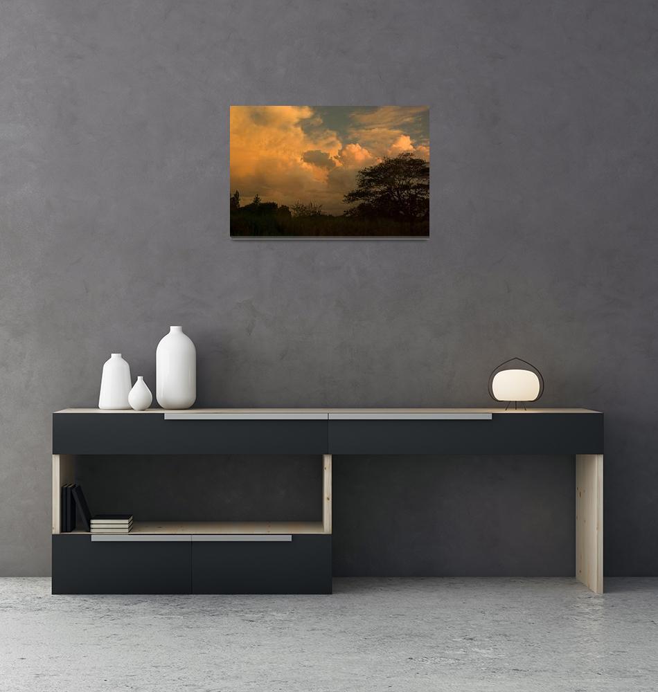 """Fiji Sunset""  by Mac"