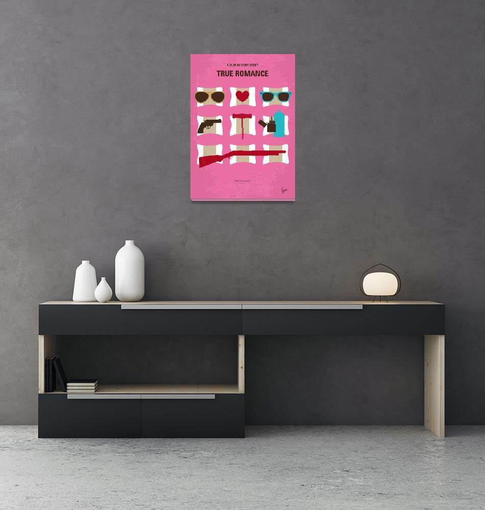 """No736 My True Romance minimal movie poster""  by Chungkong"