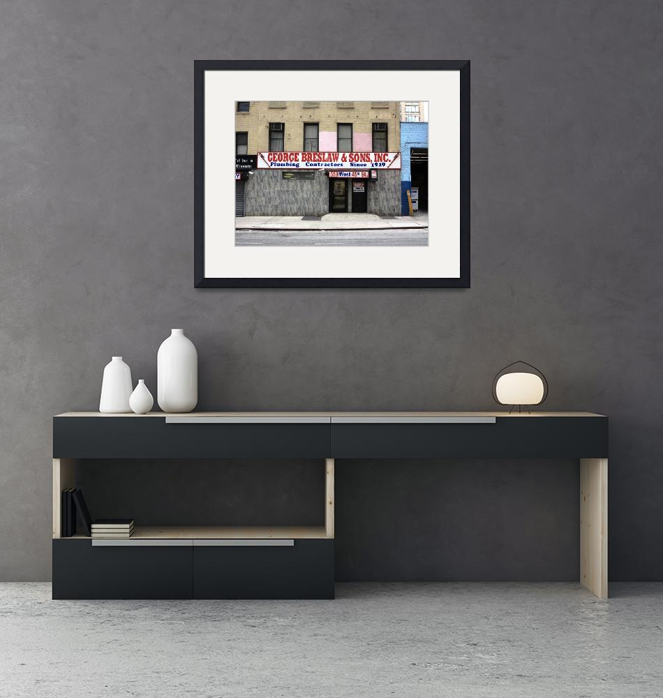 """""""New York City Storefront 2014 #1""""  (2014) by Ffooter"""